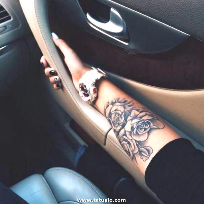 Tatuaje De Mujer En Brazo3