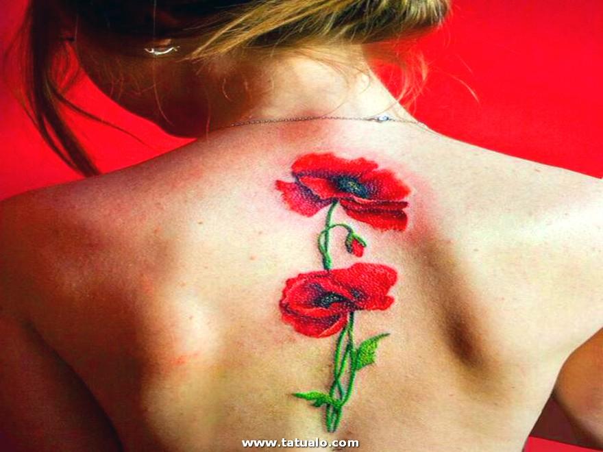 Tatuaje De Rosas Para Mujeres