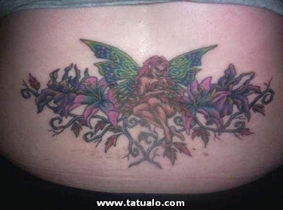 Tatuaje Espalda Baja 598