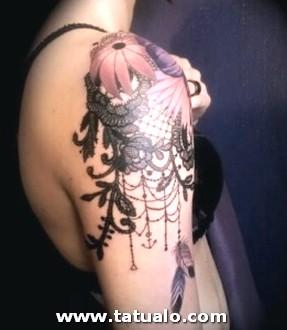 Tatuaje Hombro Para Mujeres