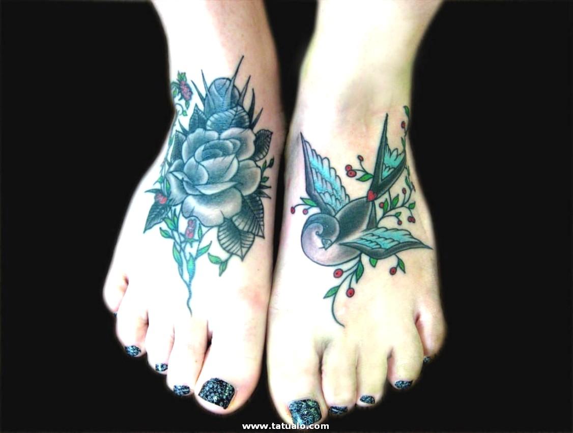 Tatuaje Mujer Pie Bonito 1024x774