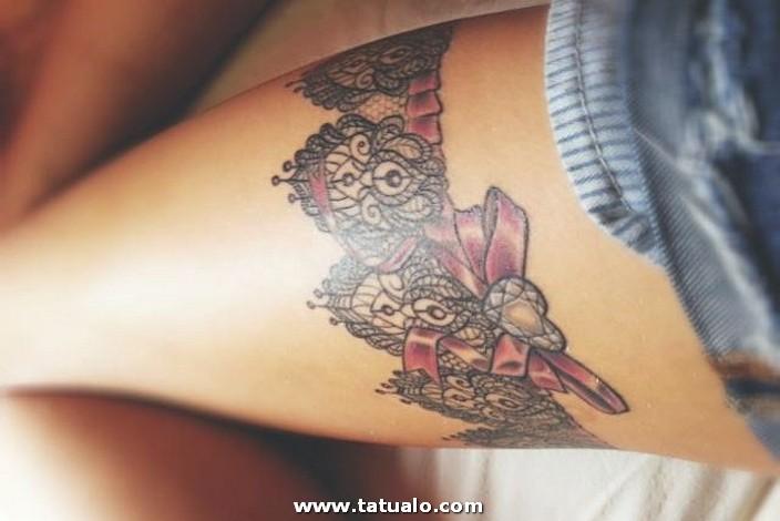 Tatuaje Mujer Pierna 8