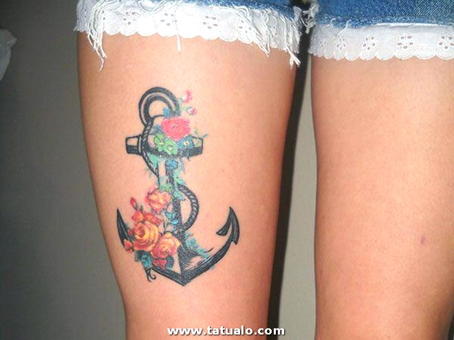 Tatuaje Muslo Pierna 1507