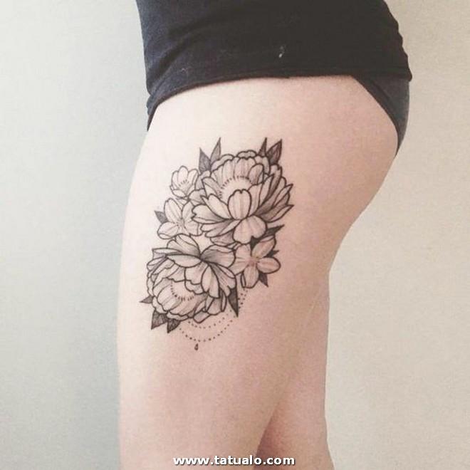 Tatuaje Muslo Pierna 961