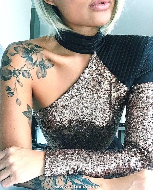 Tatuaje Para El Hombbro Mujer 3