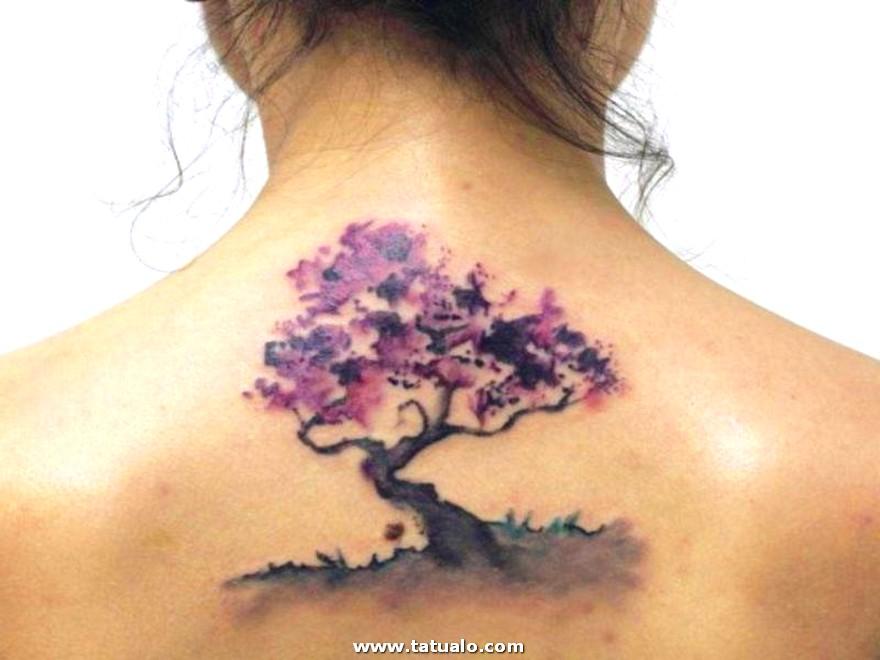 Tatuaje Para La Espalda De Una Mujer