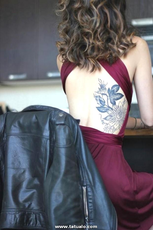 Tatuaje Para Mujer En La Espalda Baja