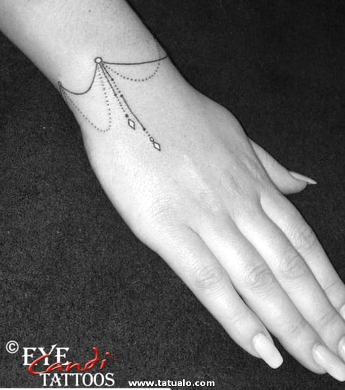 Tatuaje Para Mujer Tatuaje De Una Cadena En La Muneca 43b86226b8a0496ae46f578d7358b1fa3a52d883
