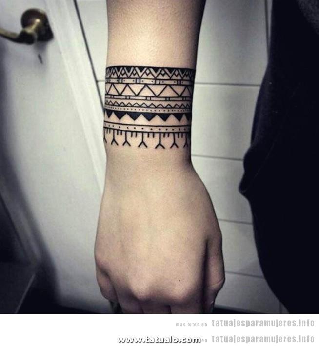 Tatuaje Pulsera Mujer 2