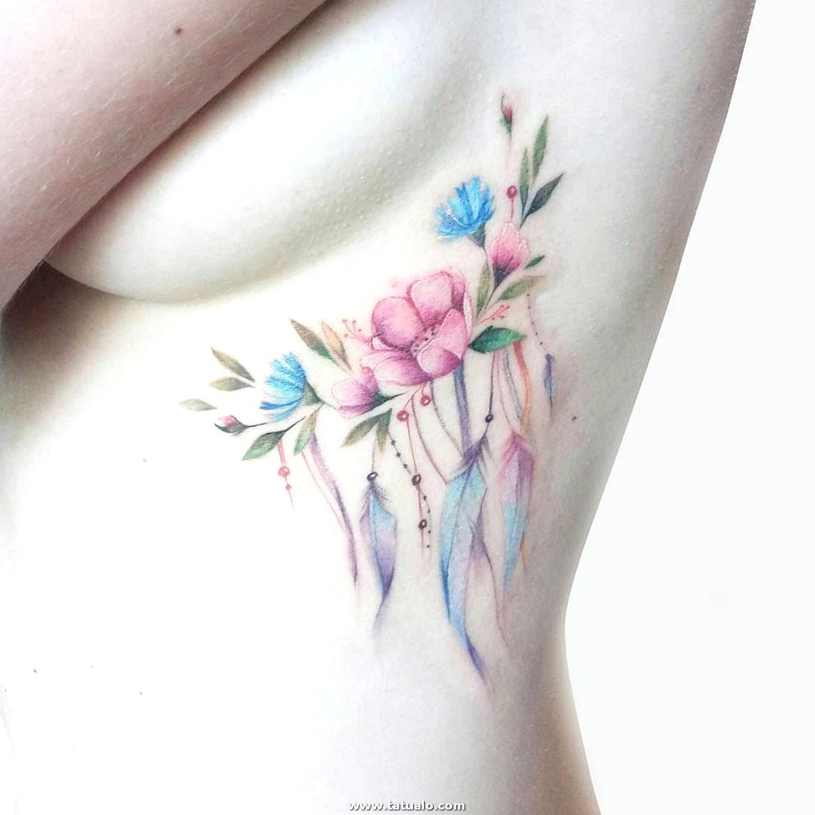 Tatuaje Sensible Y Muy Bonito Para Mujer 116