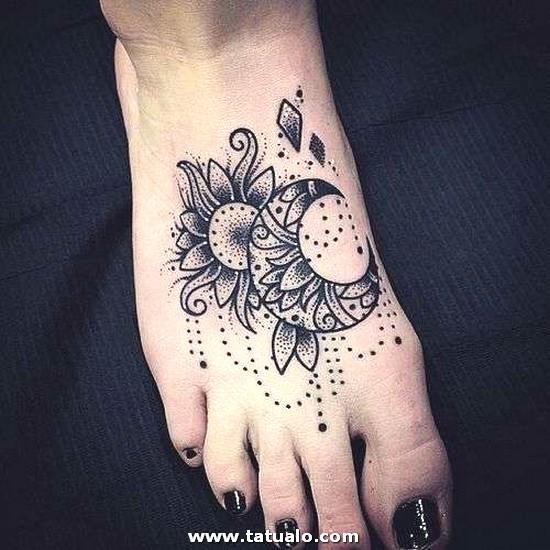 Tatuaje Sol Y Luna