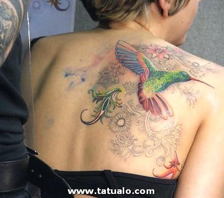Tatuaje Mujeres Espalda