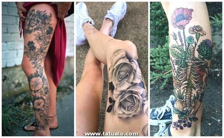 Tatuajes Atrapasuenos En La Pierna