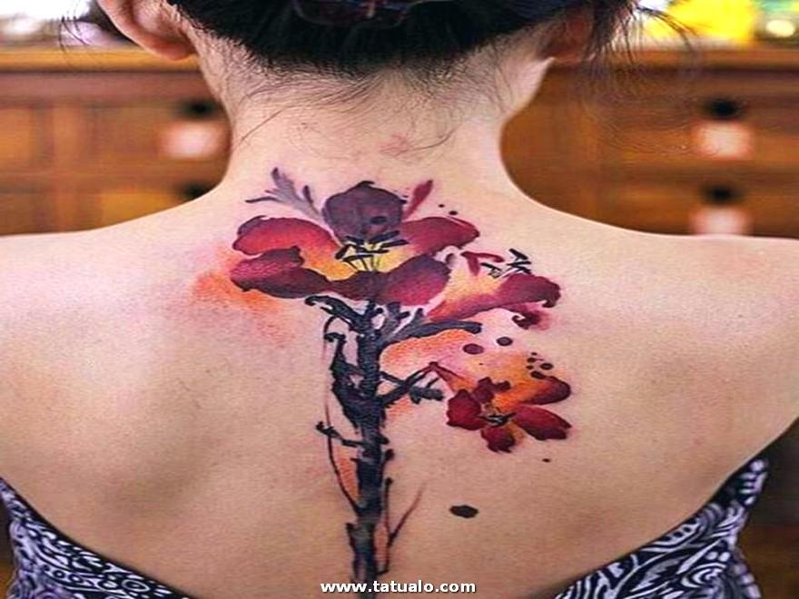 Tatuajes Bonitos En El Cuello