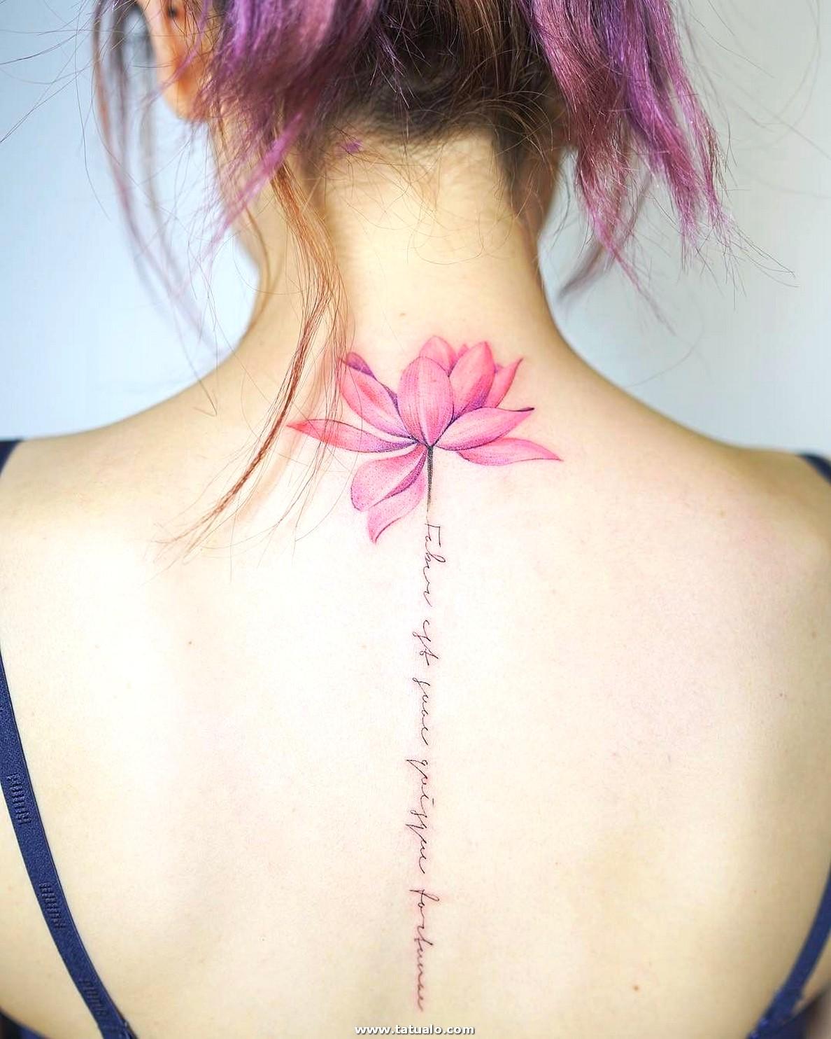 Tatuajes Bonitos Para Mujer En La Espalda 3