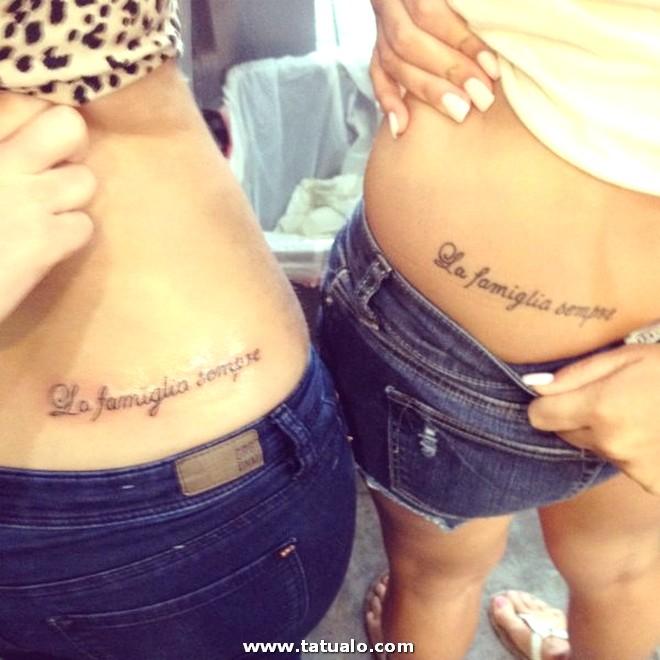 Tatuajes Cadera Hermanas