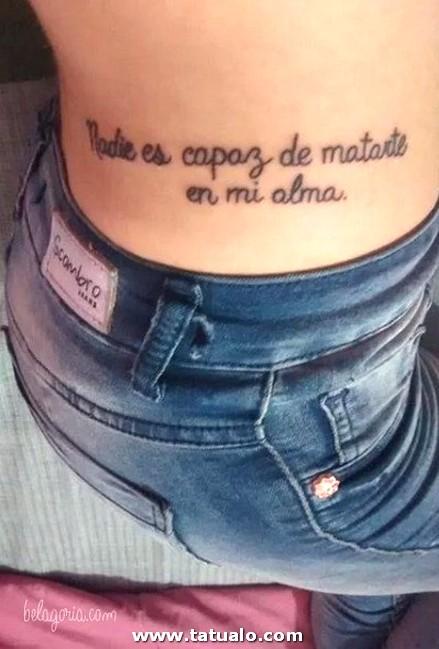 Tatuajes Cintura Mujeres 64