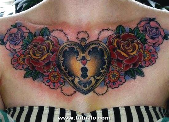 Tatuajes Corazones Candados
