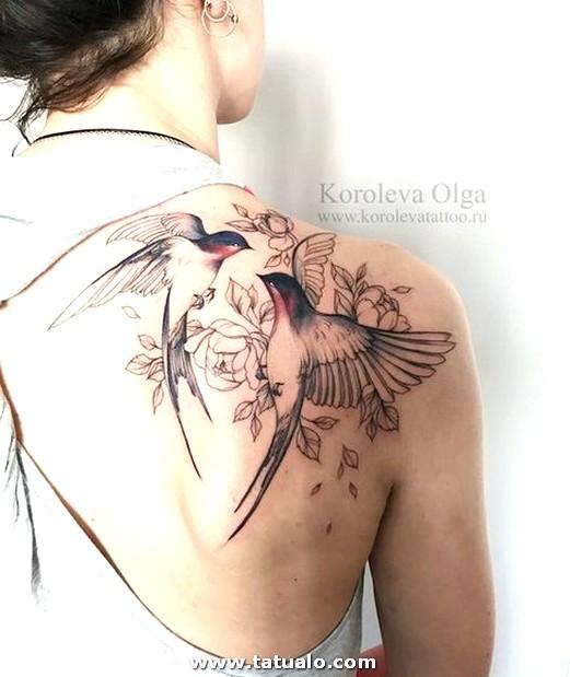Tatuajes De Aves Para Mujeres 5