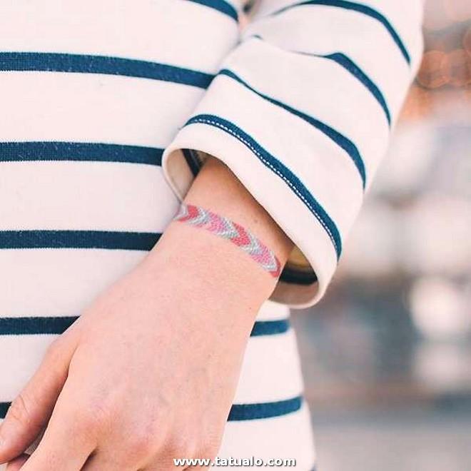 Tatuajes De Brazaletes Para Mujeres Pulsera De La Amistad