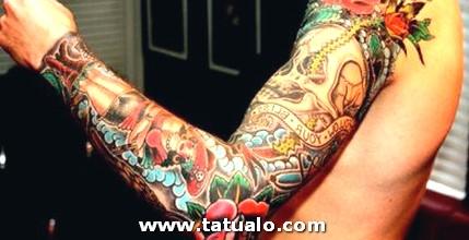 Tatuajes De Brazo Entero Para Mujeres 390x200