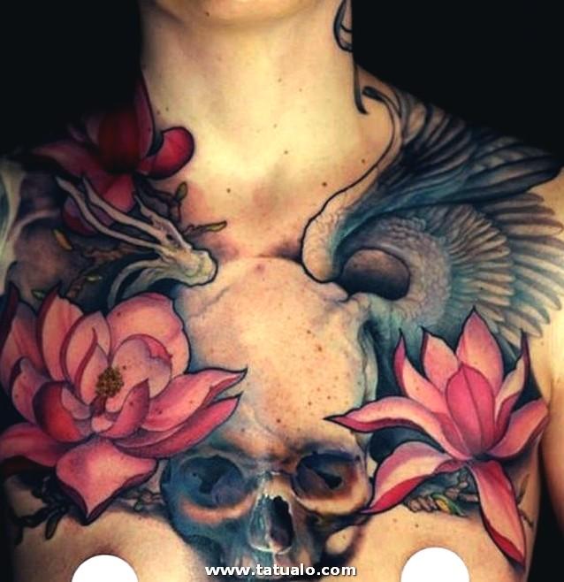 Tatuajes De Calaveras Para Mujeres 1