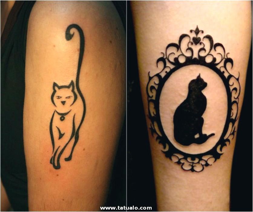 Tatuajes De Gatos Mujeres Piernas