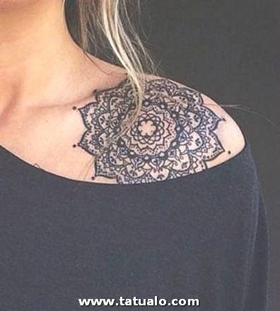 Tatuajes De Mandalas Para Mujeres Hombro