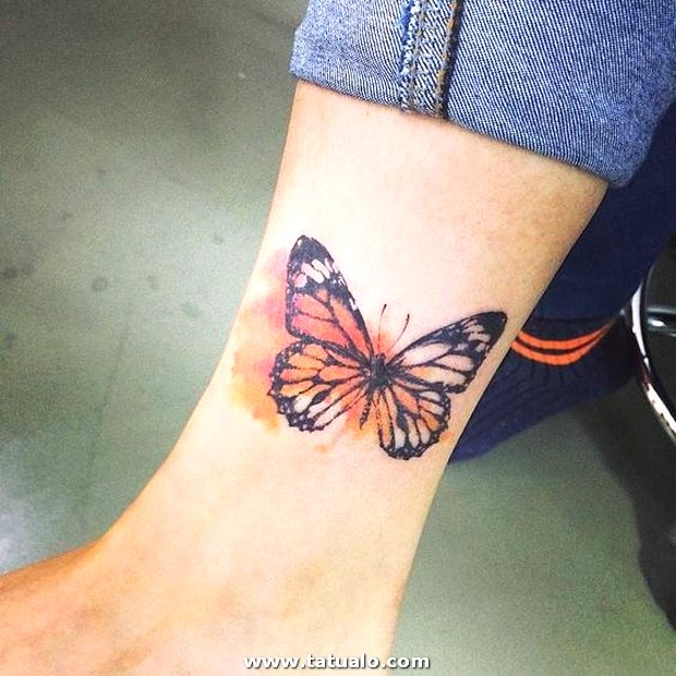Tatuajes De Mariposas Para Mujeres 31