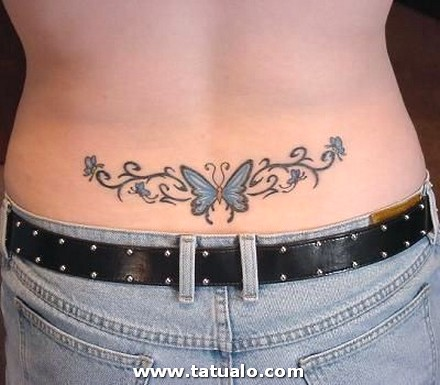 Tatuajes De Mariposas Para Mujeres Bonitos Dise Os En La Espalda Tatuaje Mariposa Baja Butterfly Tattoo Designs Peque Lower