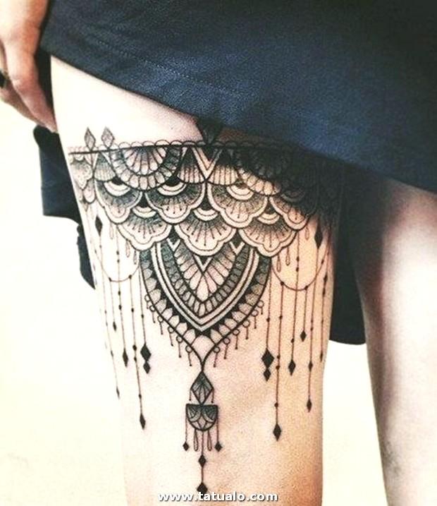 Tatuajes De Mujeres En Las Piernas