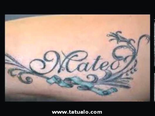 Tatuajes De Nombres Dise Os Para Hombres Y Mujeres 120 Hijos
