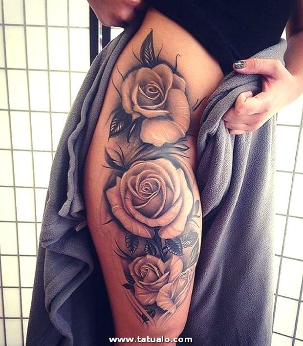 Tatuajes De Rosas Para Mujeres En El Brazo 5