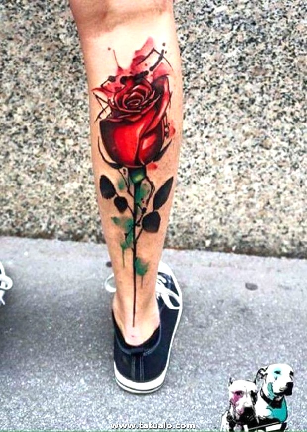 Tatuajes De Rosas Para Mujeres En El Brazo 7