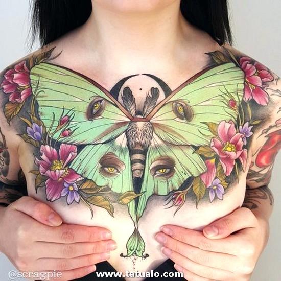 Tatuajes En El Abdomen Mujeres 3