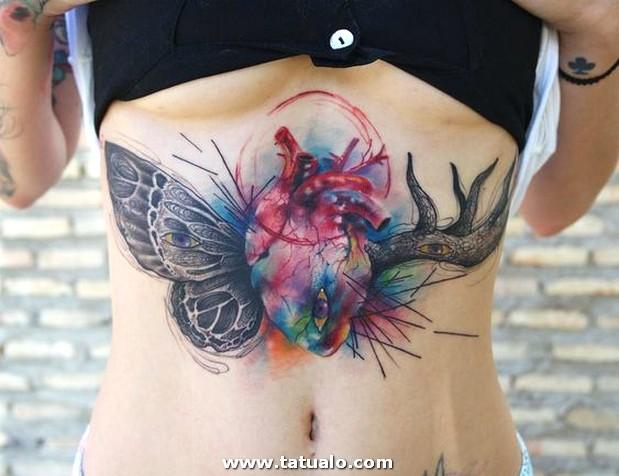 Tatuajes En El Abdomen Para Mujeres 4