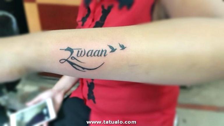 Tatuajes En El Antebrazo Brazo Y Para Mujeres Hombres Nombres 1001 Ideas De Letras