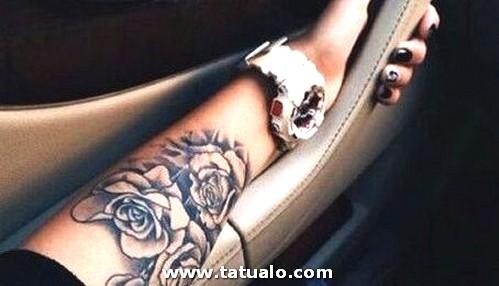 Tatuajes En El Antebrazo Para Mujeres 1 454x260