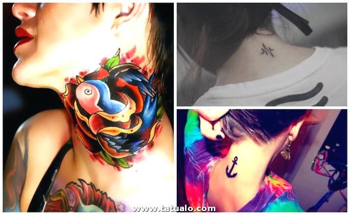 Tatuajes En El Cuello (1)