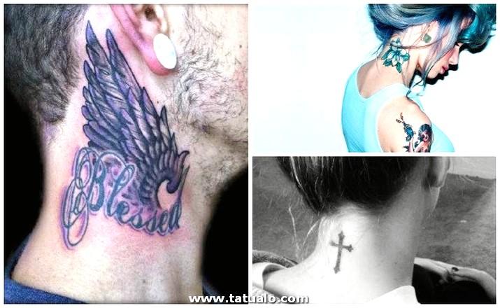 Tatuajes En El Cuello Atras