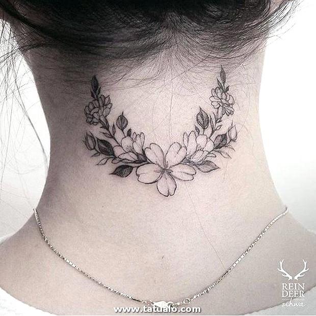 Tatuajes En El Cuello Para Mujeres 4 (1)
