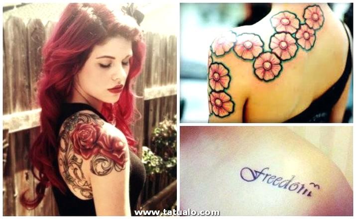Tatuajes En El Hombro Mujer