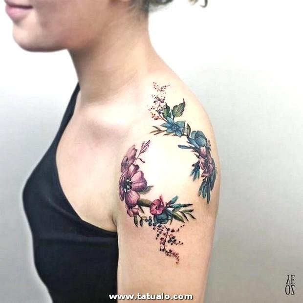 Tatuajes En El Hombro Para Mujeres 5