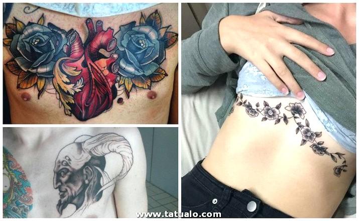 Tatuajes En El Pecho Letras