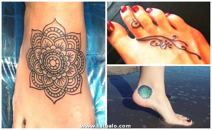 Tatuajes En El Pie Mujeres