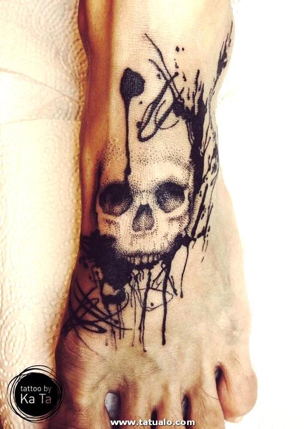 Tatuajes En El Pie Para Hombres 2
