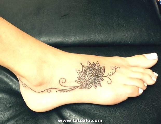 Tatuajes En El Pie Para Mujeres 2