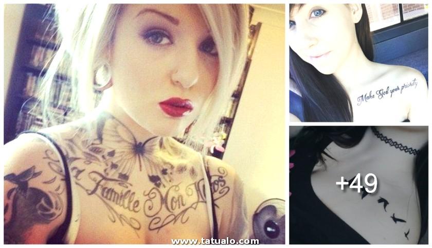 Tatuajes En La Clavicula Face