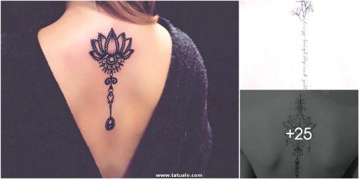 Tatuajes En La Columna O Espalda 2
