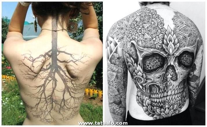 Tatuajes En La Espalda (1)